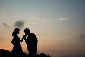 ロマンチックな不倫関係
